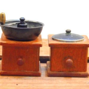Vintage Salt and Pepper Shakers Coffee Mill